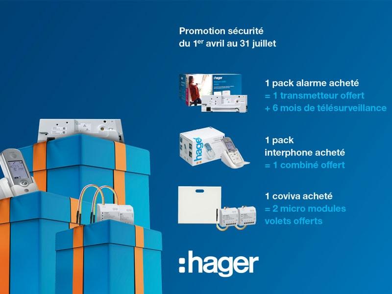 Opération Sécurité & Logement Connecté 2019, Hager vous fait gagner ! - Batiweb