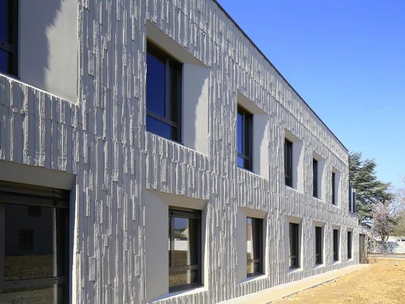 Le béton et la façade : une complicité en plein essor - Batiweb