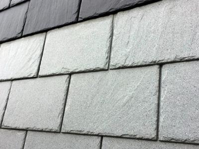Parement de façade ARDOISE (inspiration minérale) Batiweb