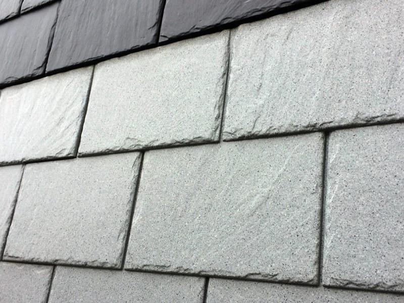Parement de façade ARDOISE (inspiration minérale) - Batiweb