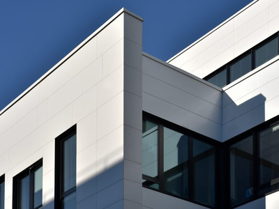 Parement de façade LISSE MAT (inspiration urbaine) Batiweb