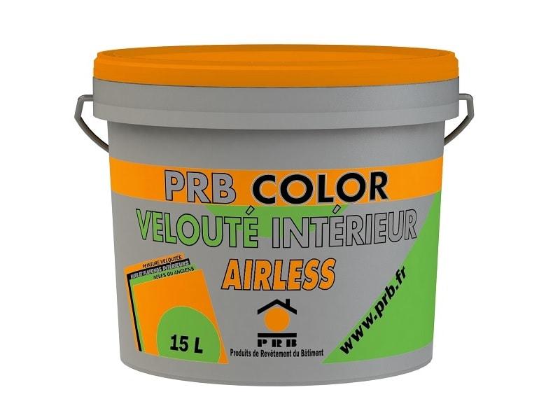 PRB COLOR VELOUTÉ INTERIEUR AIRLESS, Peinture veloutée pour la décoration intérieure