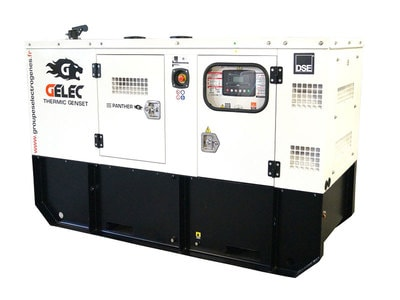 groupe électrogène diesel - PANTHER - 70 kVA Batiweb