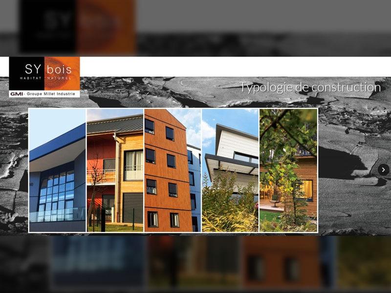 SYbois, le mur biosourcé pour réaliser des bâtiments de qualité industrielle