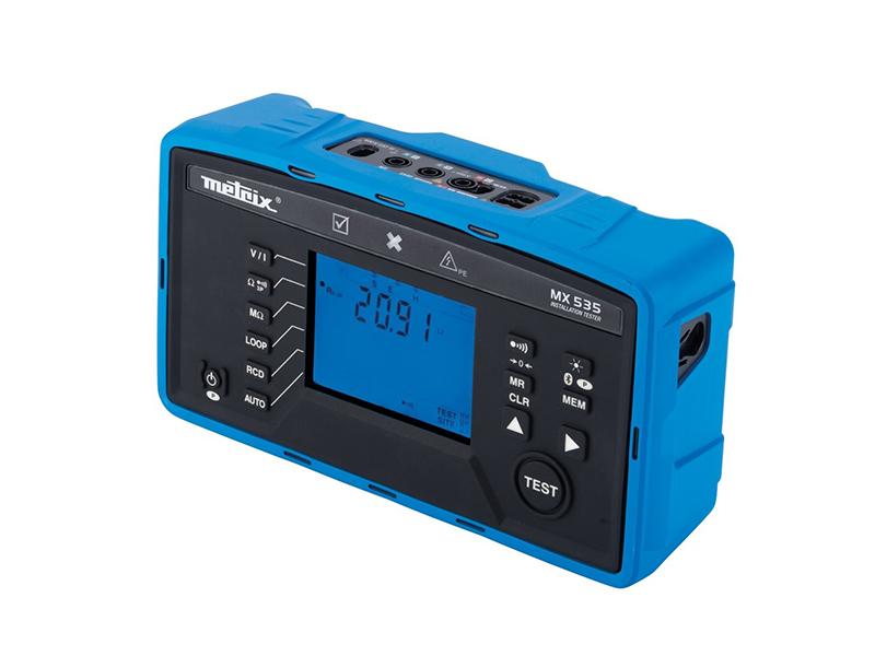 Contrôleur d'installations électriques MX535 - Batiweb