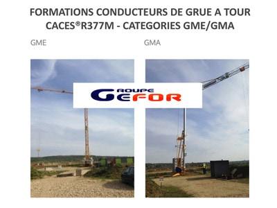 Formations CACES® Grue à tour R377m Batiweb