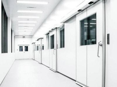 Porte hermétique GILGEN pour les hôpitaux et les salles blanches Batiweb