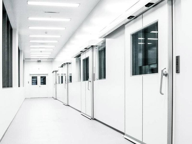 Porte hermétique GILGEN pour les hôpitaux et les salles blanches - Batiweb