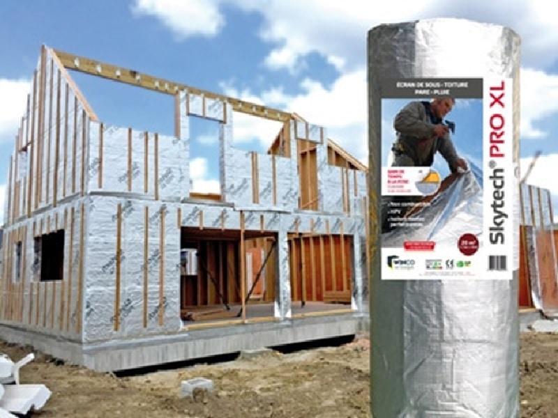 Isolant pour façades SKYTECH PRO XL - Batiweb