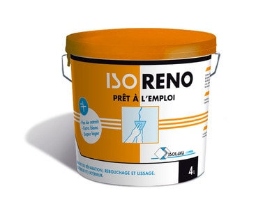 ISORENO - Enduit de rénovation prêt à l'emploi Batiweb