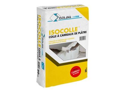 ISOCOLLE - Colle à carreaux de plâtre Batiweb