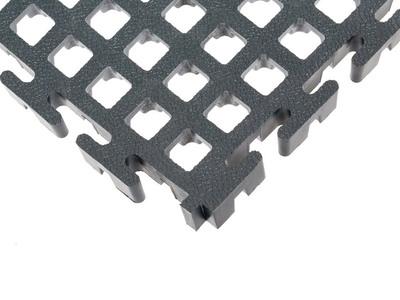 STANDLINE, Dalles PVC ajourées permettant l'écoulement des liquides Batiweb