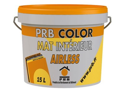 PRB COLOR MAT INTÉRIEUR AIRLESS Batiweb