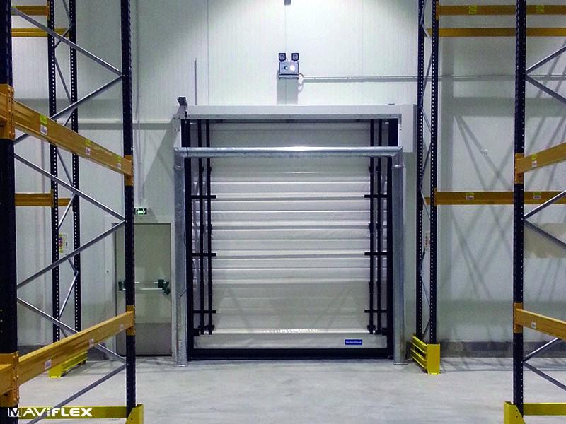MAVICOLD® : La porte souple rapide adaptée à tous les environnements froids - Batiweb
