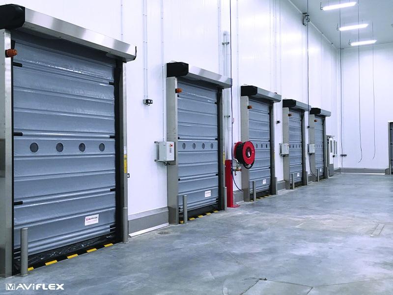 MAVIROLL® : La porte pour les environnements intérieurs et configurations spécifiques