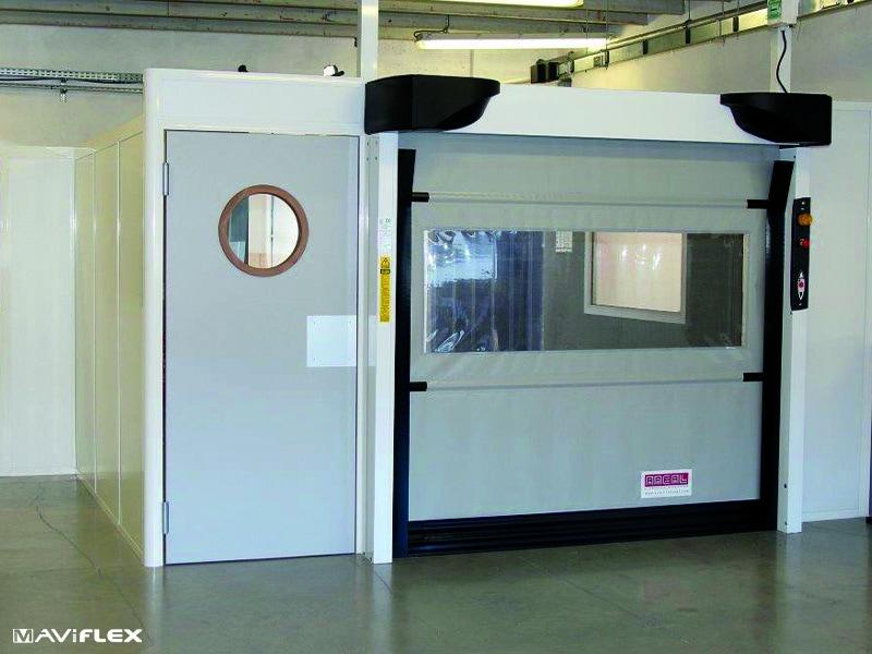 MAVIONE® : La porte souple rapide adaptée aux environnements intérieurs