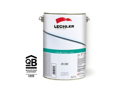 FRAMECOAT PVC Laque acryliques 2K en adhésion directe sur PVC pour teintes unies Batiweb
