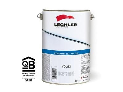 HYDROFRAMECOAT PVC FLEX  Finition Acrylique 2K HYDRO en adhésion directe sur PVC pour teintes unies Batiweb