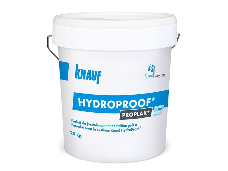 Enduit Knauf Proplak HydroProof®