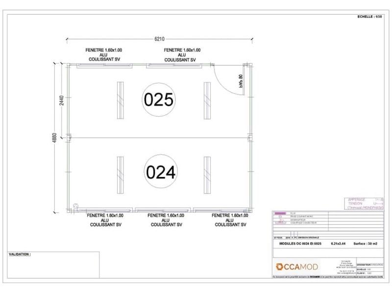 Modulaire d'occasion OC 0024-0025 - Batiweb