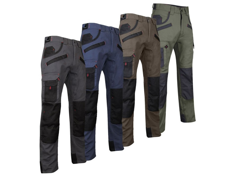 Pantalon de travail multipoches LMA