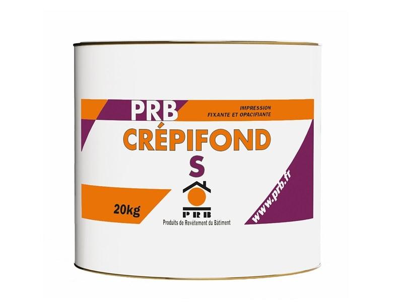 PRB CREPIFOND S, peinture impression fixante et opacifiante - Batiweb