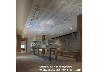 Plafond acoustique non démontable plâtre - Knauf Delta 4 Batiweb