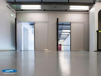 Les portes battantes coupe-feu certifiées NF Batiweb