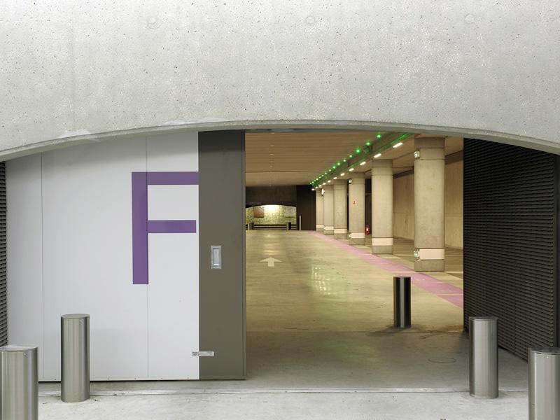 Les portes coulissantes coupe-feu
