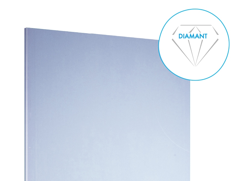 Plaque de plâtre très résistante Knauf Diamant - Batiweb