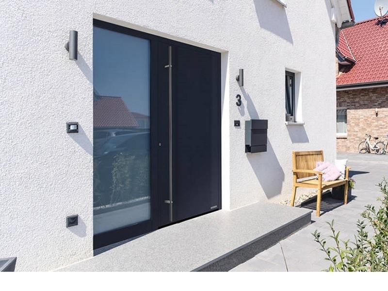 Porte ThermoPlan hybride Hormann - Batiweb