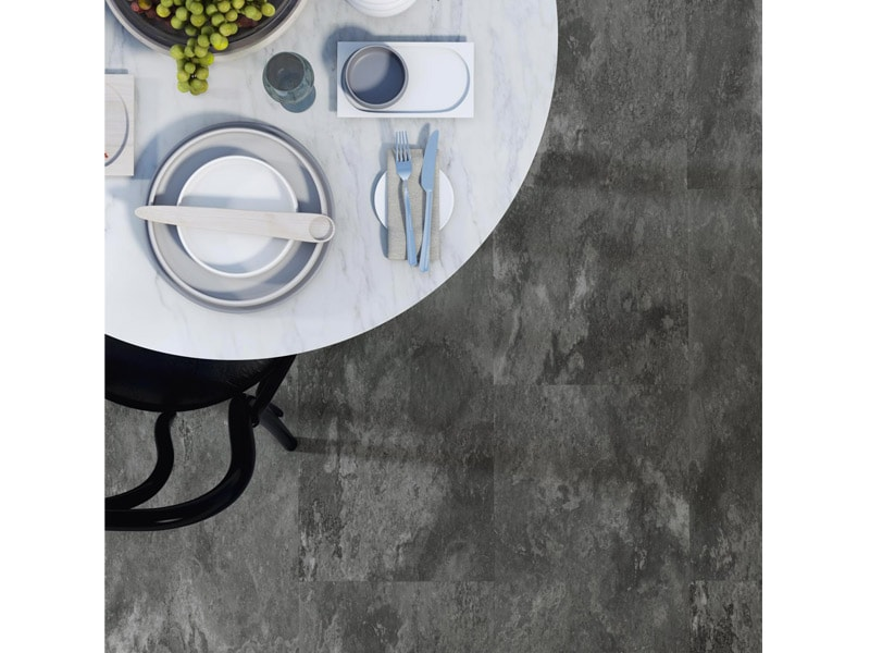 Sol PVC en dalles et lames rigides clipsables avec sous couche acoustique intégrée : Amtico Click Smart - Batiweb