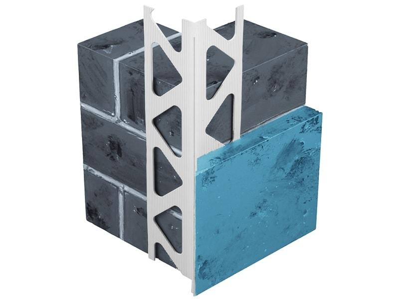 Profilé d'angle PVC D.PRO avec nez fin 3300-3307
