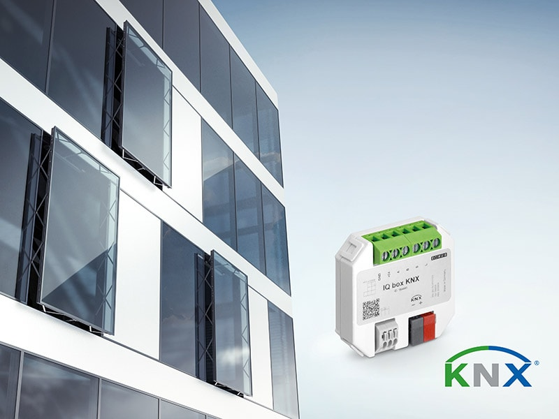 Interface IQ box KNX : La ventilation intelligente dans l'univers KNX