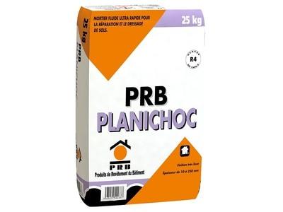 PRB PLANICHOC, mortier fin rapide pour la réparation et le dressage de sols Batiweb