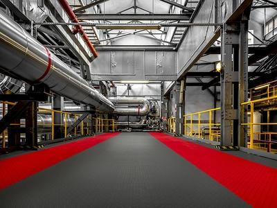 MOSAIK PVC : Dalles PVC Clipsables pour Garage-Atelier Batiweb