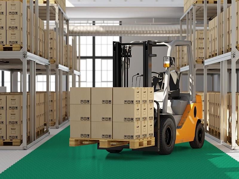 Sol PVC pour Entrepôt & Zone de Stockage - Batiweb