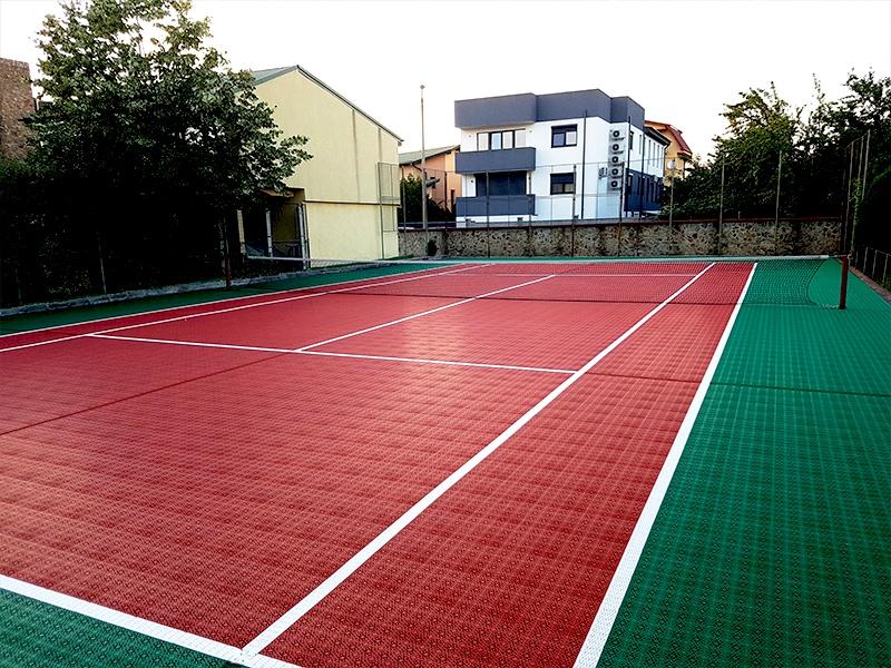 TENNIS : Revêtement de Sol Agréé ITF - Batiweb