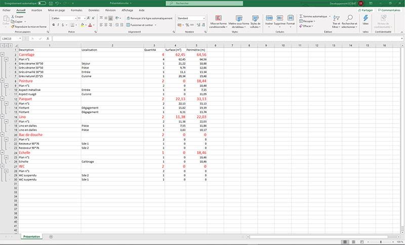 QUANTIPLAN : le logiciel de prise de mesures sur plans PDF / DWG - Batiweb
