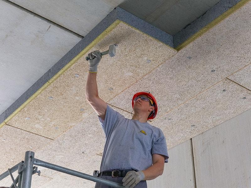 Stisolith® Ultra LR Meca : Panneau en polystyrène expansé pour l'isolation des sous-faces de dalles - Batiweb
