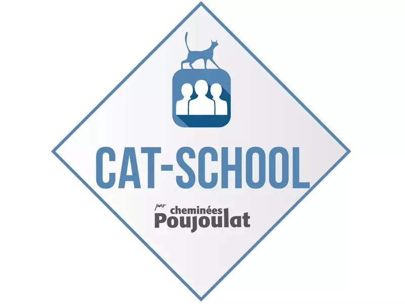 CAT-SCHOOL, formations pour les professionnels de l'univers de la cheminée et du chauffage par Cheminées Poujoulat Batiweb
