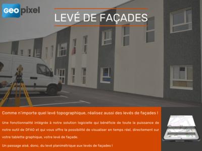 Tablette et logiciel pour le levé de façades Batiweb