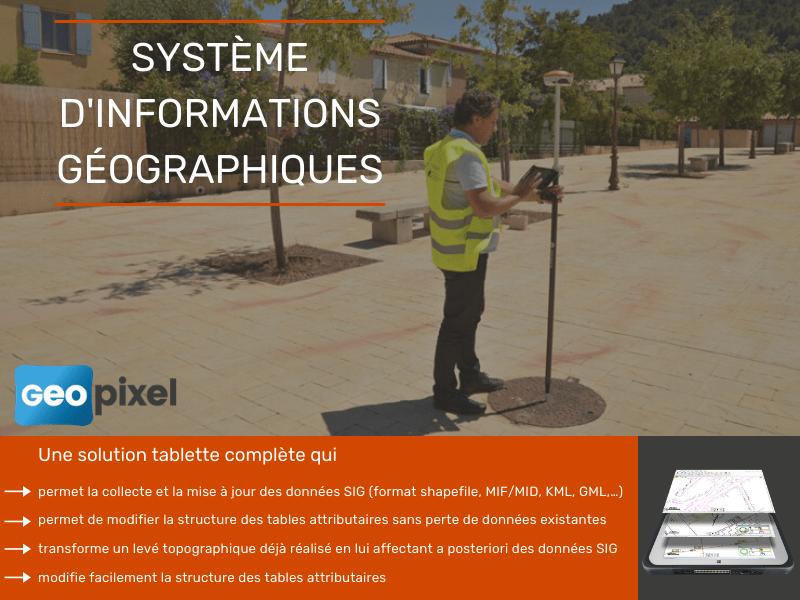 Système d'Informations Géographiques - Batiweb