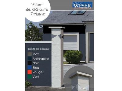 Le pilier de clôture PRISME Batiweb