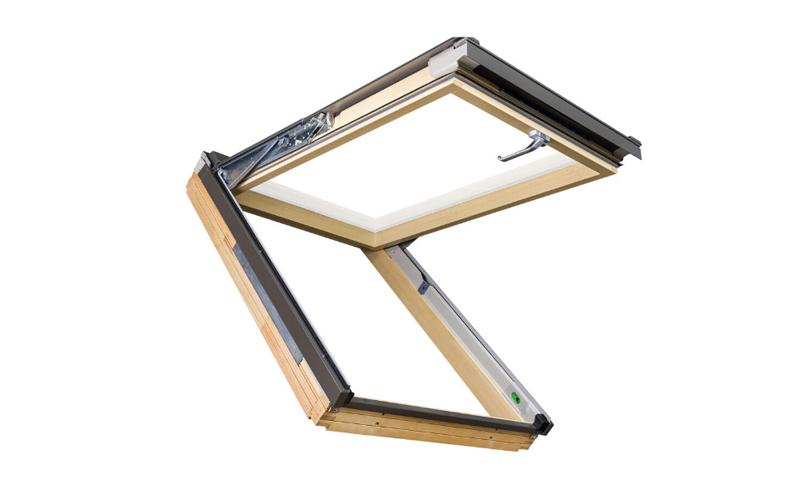 Fenêtre de toit FAKRO projection-rotation - Batiweb