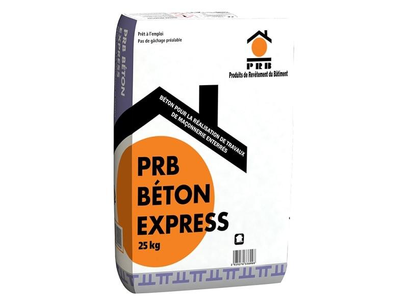 PRB BETON EXPRESS, béton pour la réalisation de travaux de maçonnerie enterrés - Batiweb