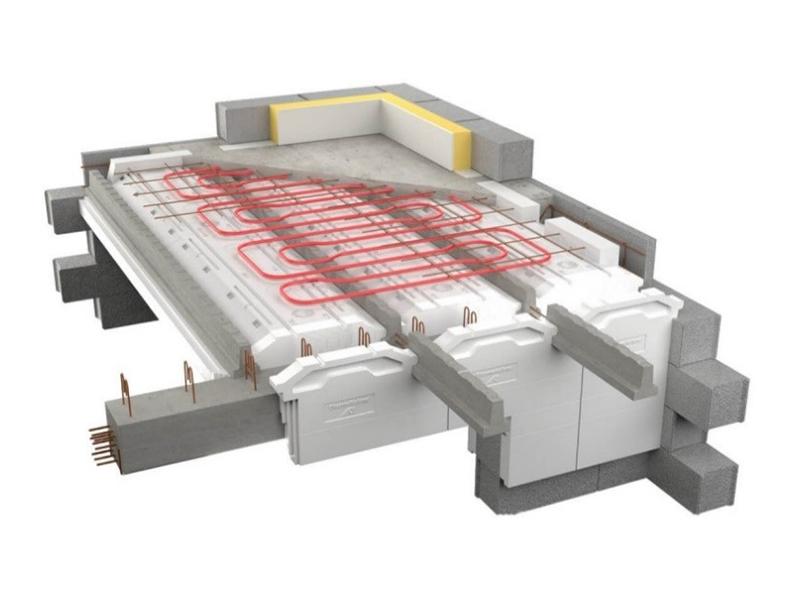 Equatio Chauffant, le plancher intégré à la dalle de compression - Batiweb