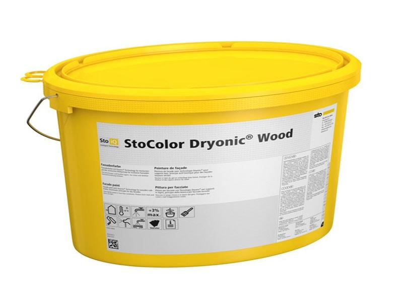 StoColor Dryonic Wood - Peinture de façade avec Dryonic® Technology pour support bois, principe actif bionique pour des façades toujours sèches - Batiweb