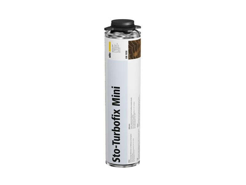 Sto-Turbofix Mini : La mousse polyuréthane qui réduit de 30% le temps de collage du PSE en ITE - Batiweb