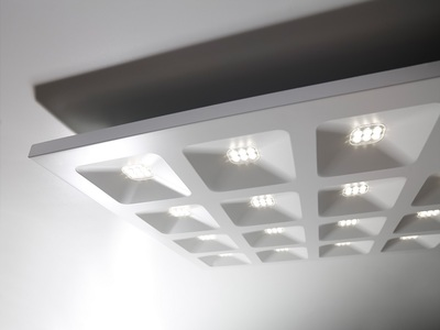 Quadro, dalle LED architecturale Batiweb